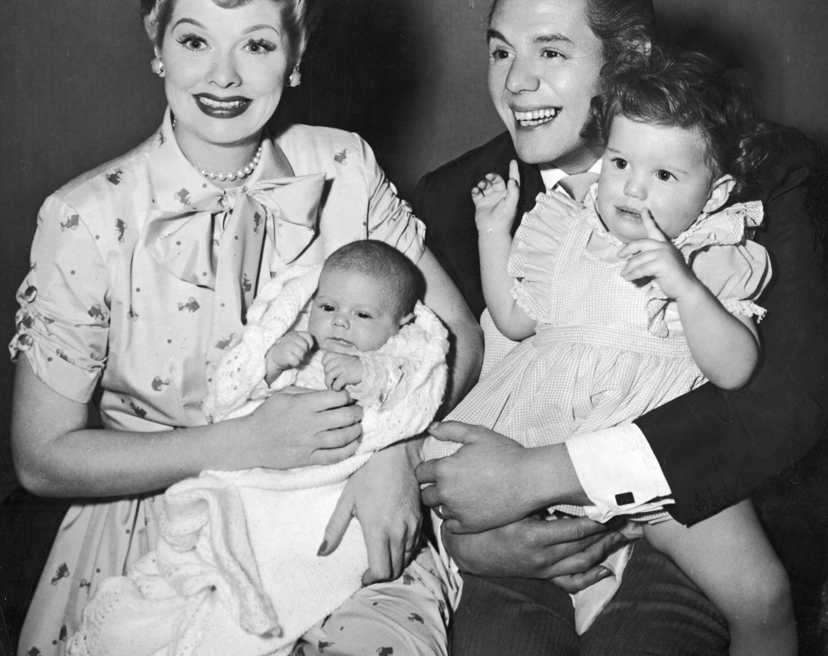 lucille ball desi arnaz family
