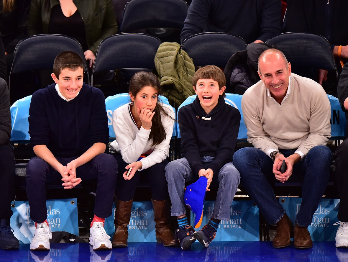 matt lauer kids