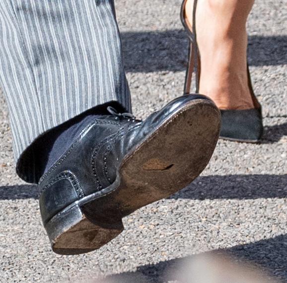 prince harry shoe