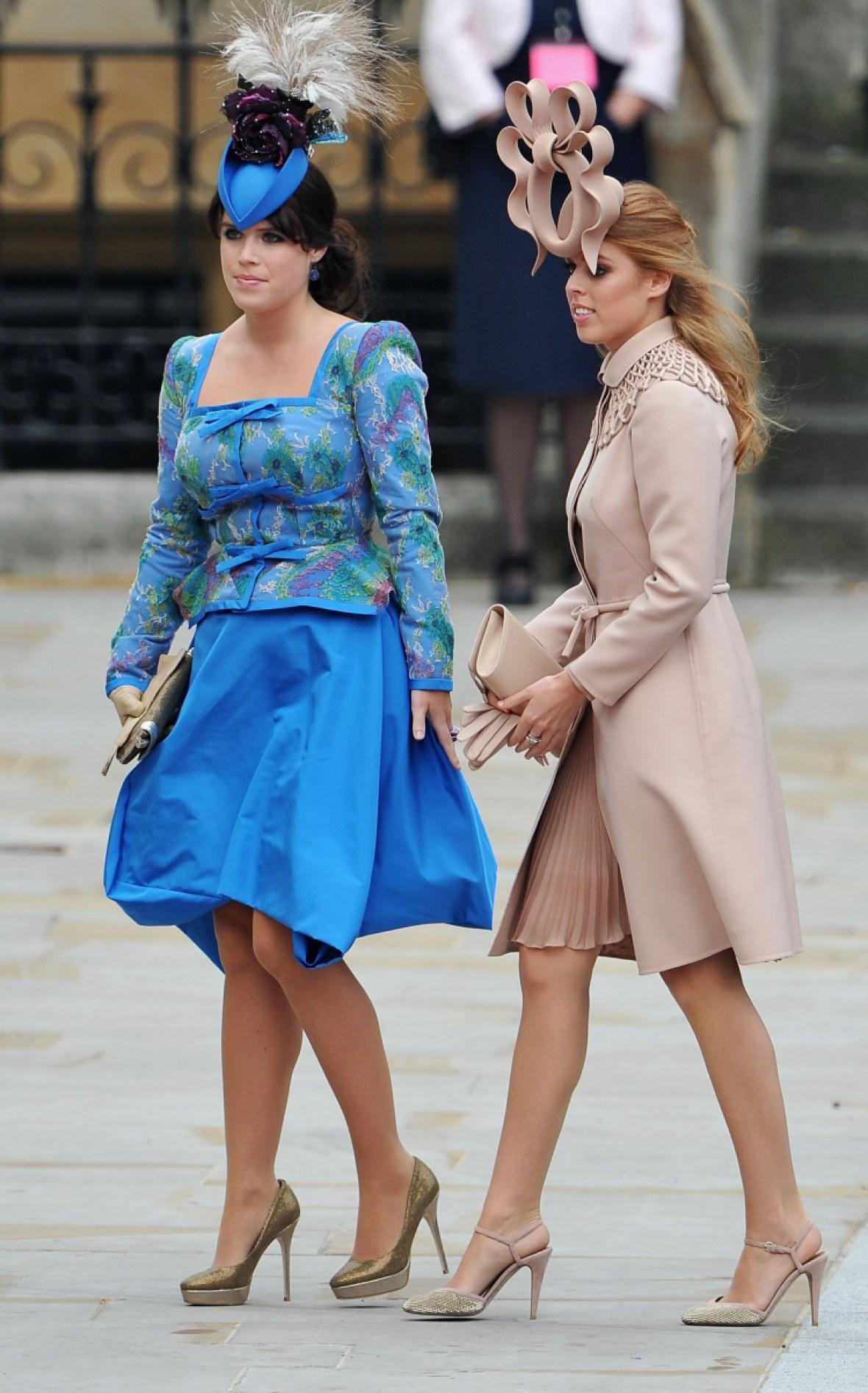 princess beatrice princess eugenie royal wedding