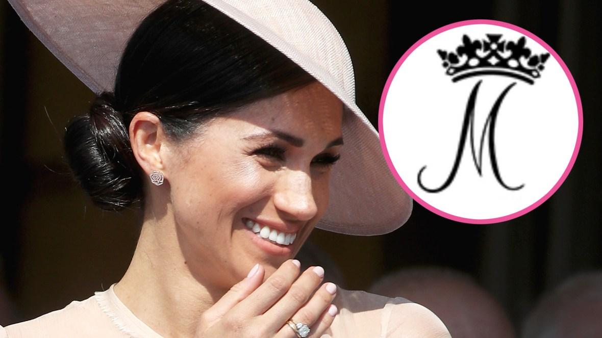 meghan markle royal monogram