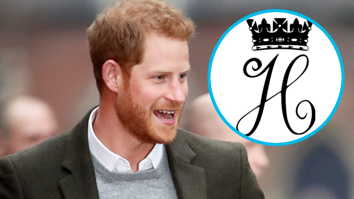 prince harry royal monogram