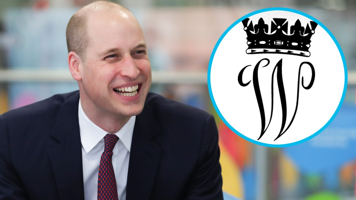 prince william royal monogram