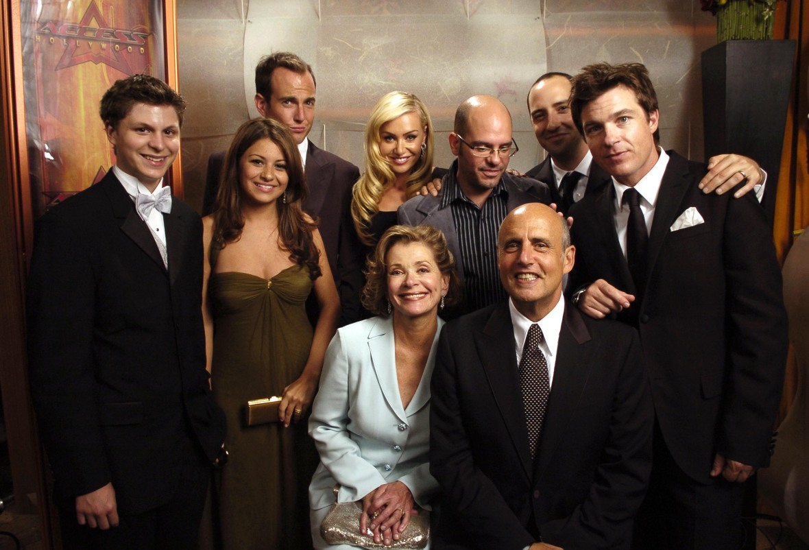 the cast of 'arrested development.' (photo credit: getty images)