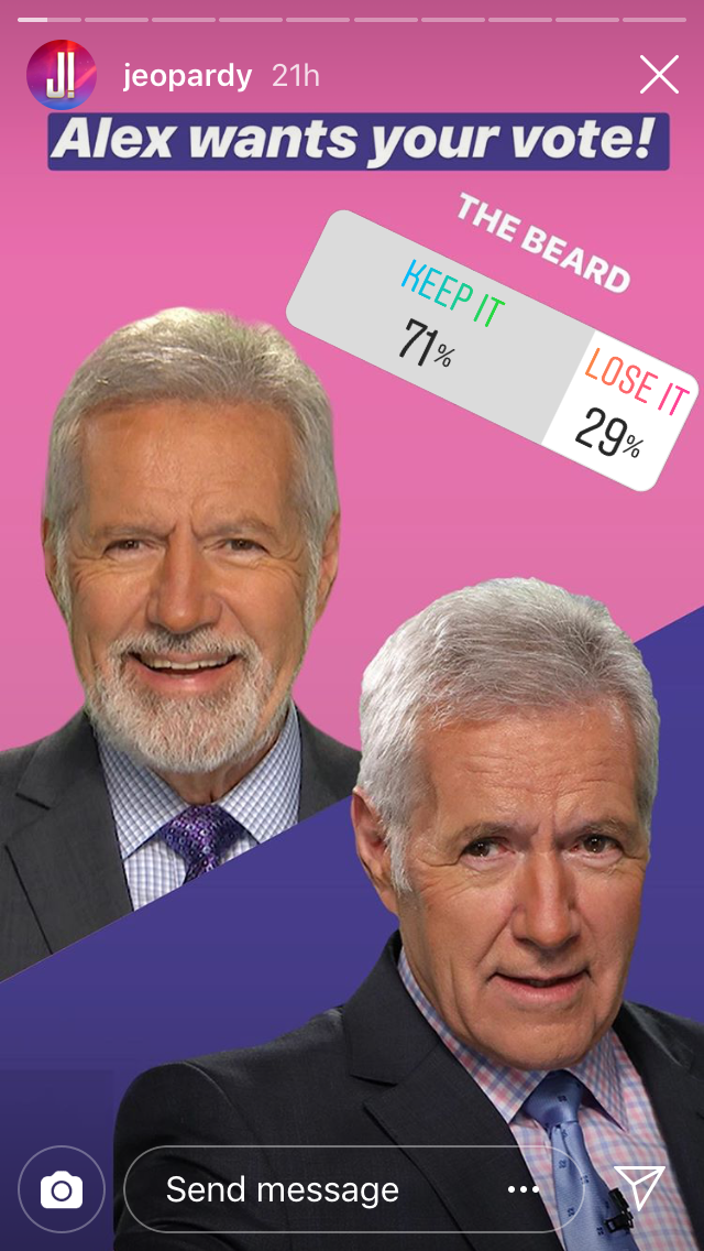 alex trebek beard