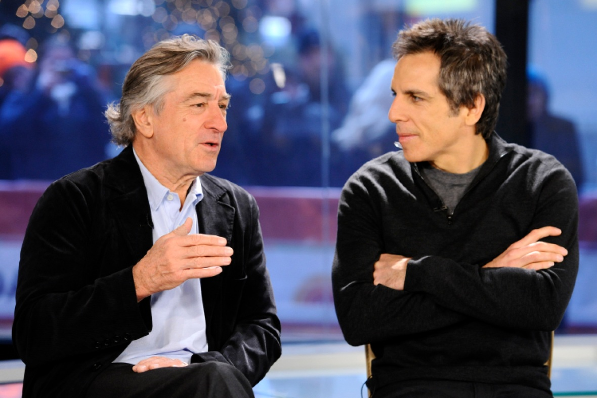 ben stiller robert de niro getty images