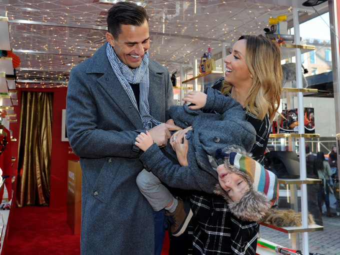 giuliana and her family. (photo credit: getty images)