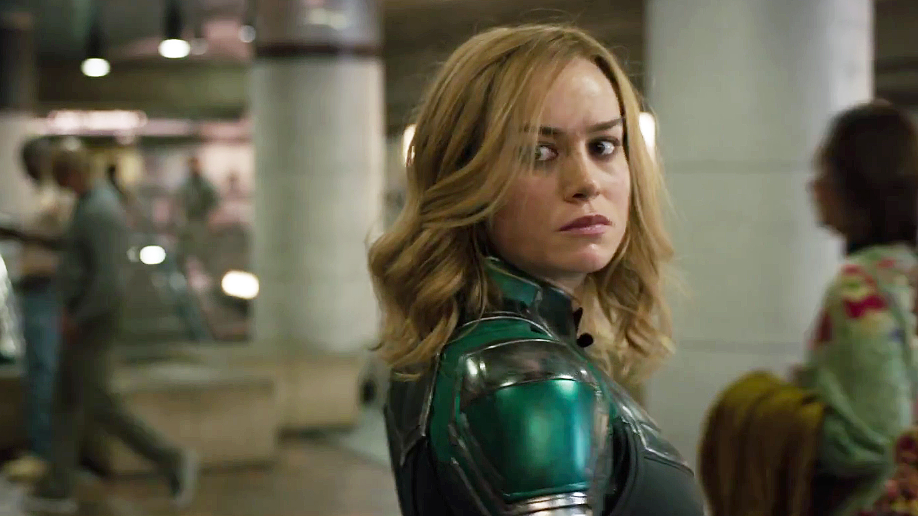 Captain Marvel Trailer First Clip With Brie Larson Has Been Released