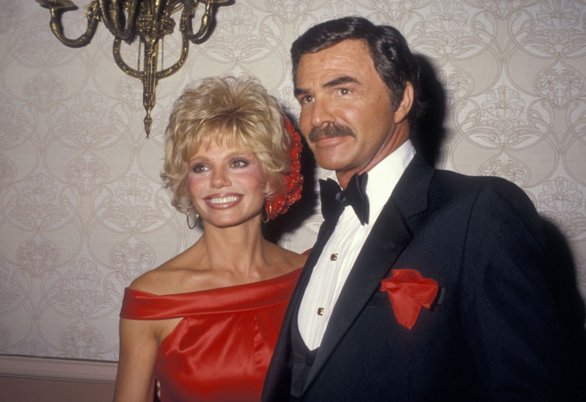 burt and loni. (photo credit: getty images)