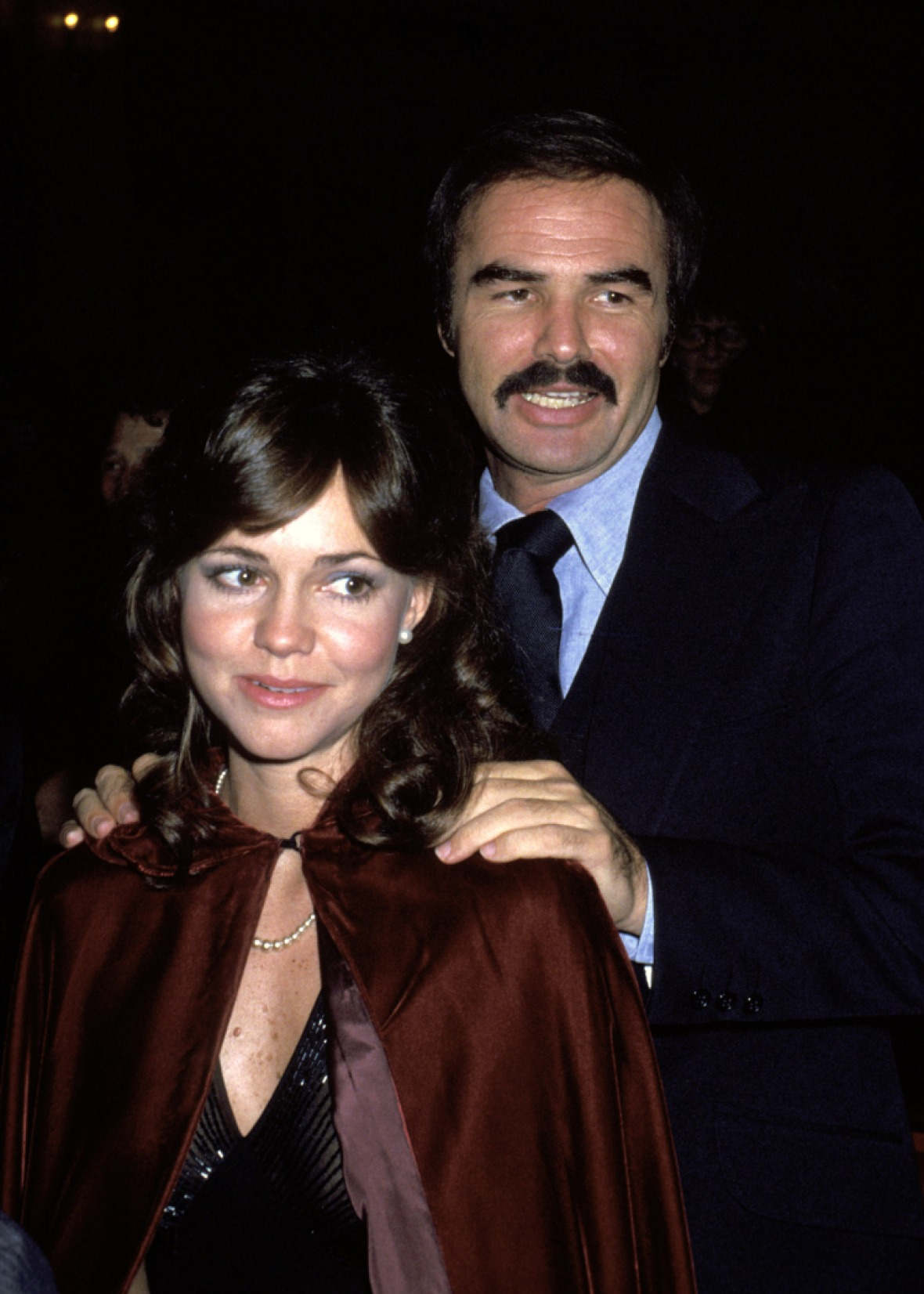 burt and sally. (photo credit: getty images)