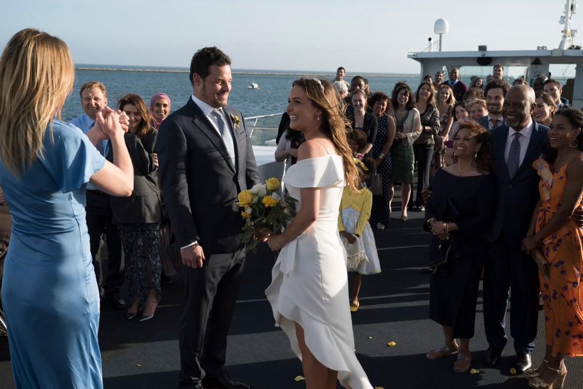 camilla luddington 'grey's anatomy' wedding
