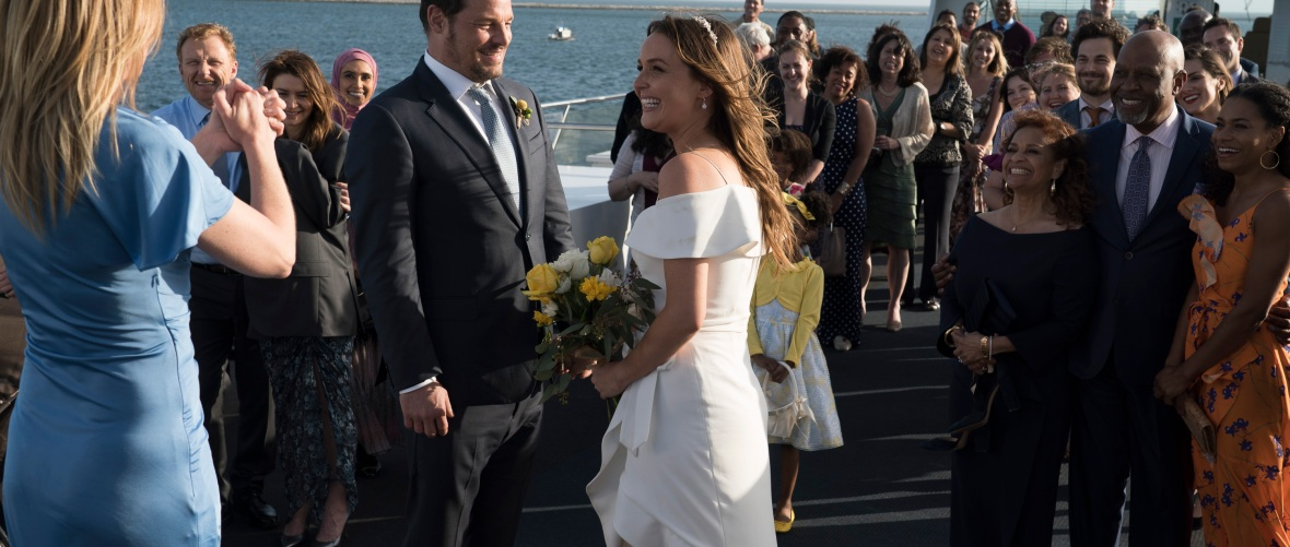 camilla luddington 'grey's anatomy' wedding