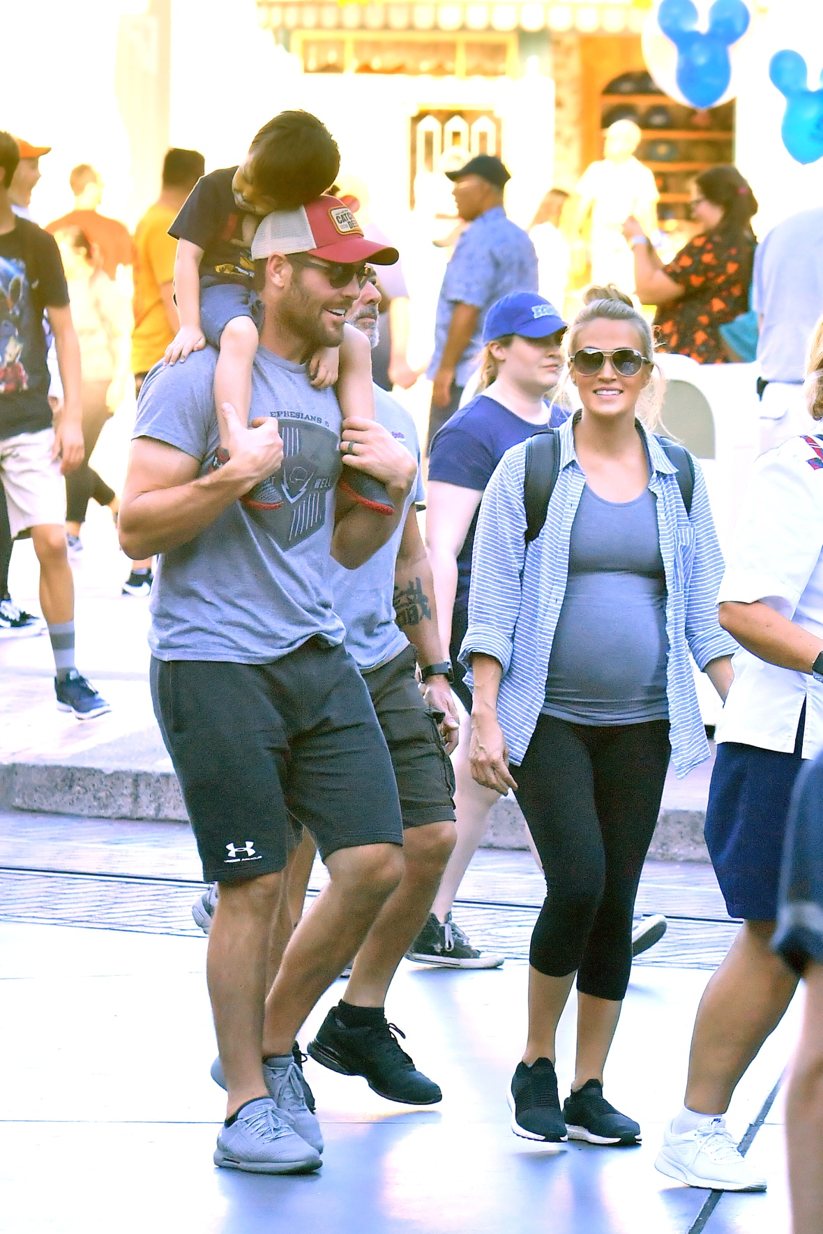 carrie underwood family