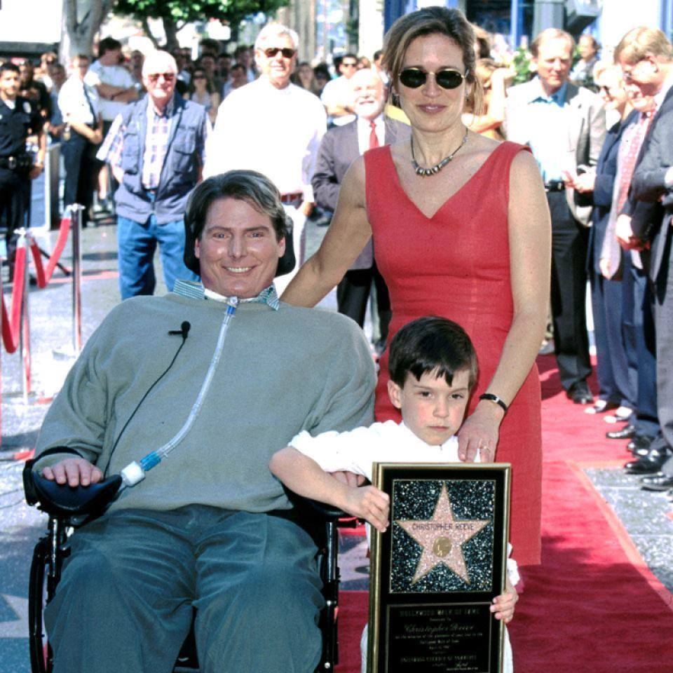 christopher, dana, and will reeve
