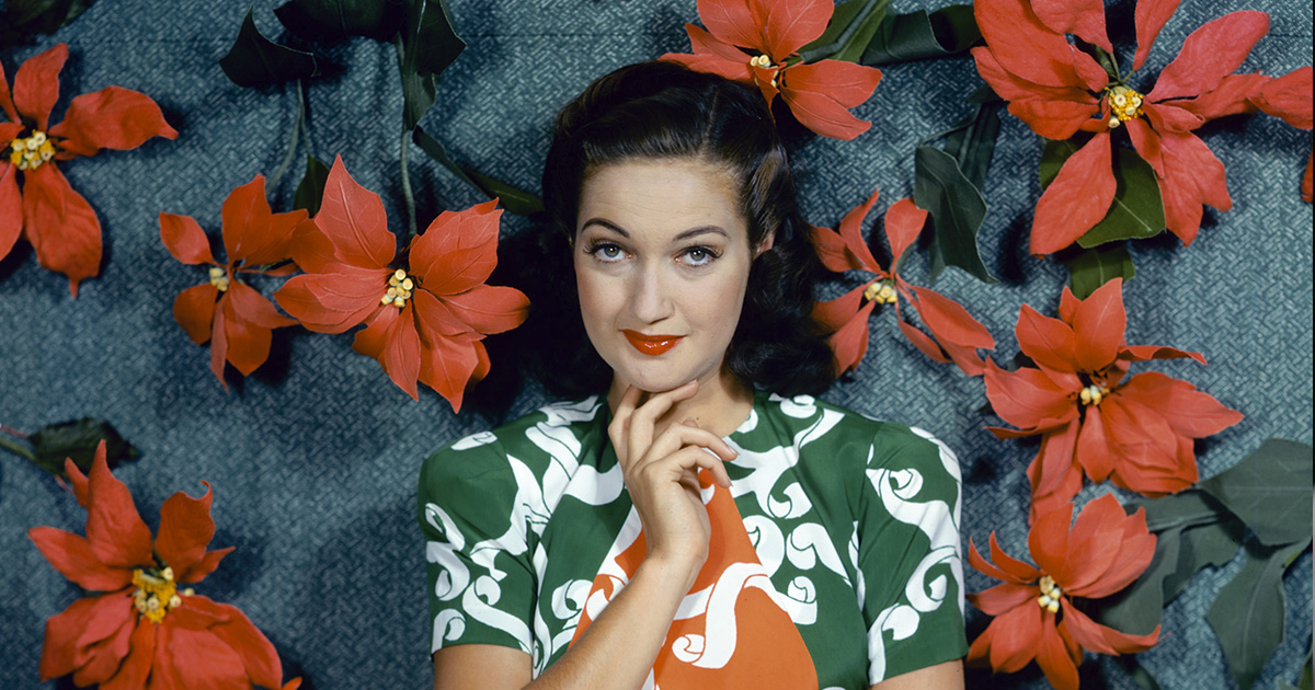 Dorothy Lamour man about town