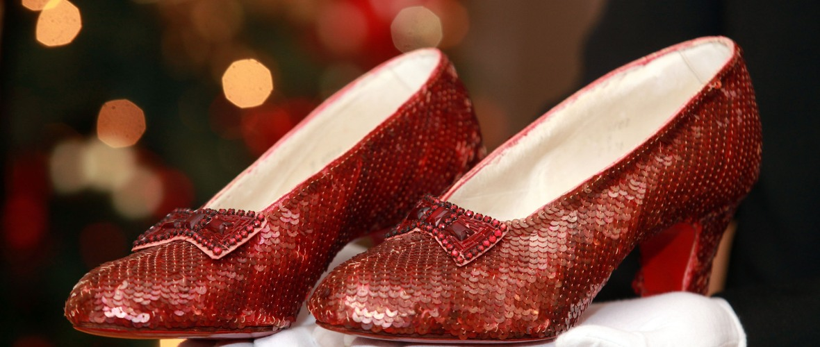 dorothy ruby red slippers