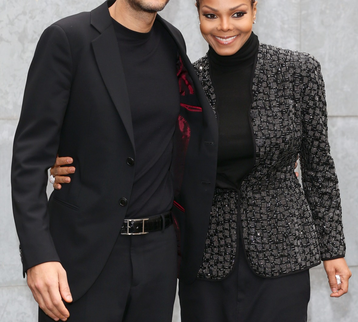 janet and wissam. (photo credit: getty images)