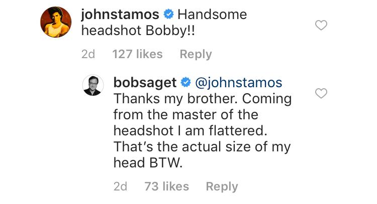 john stamos and bob saget instagram