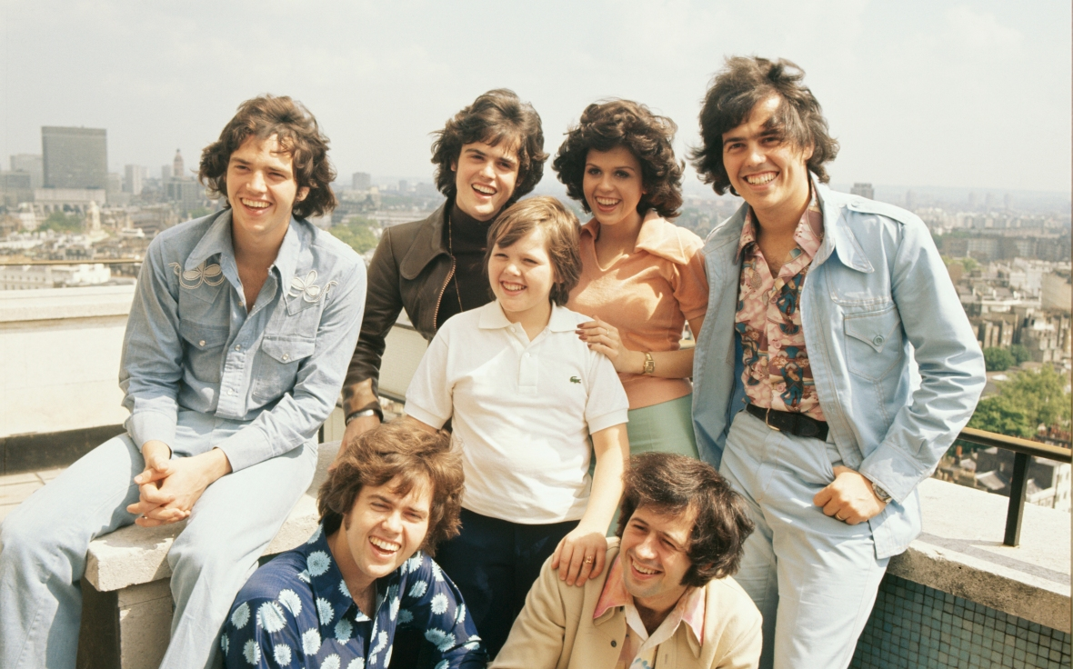 marie and her family in the '70s. (photo credit: getty images)