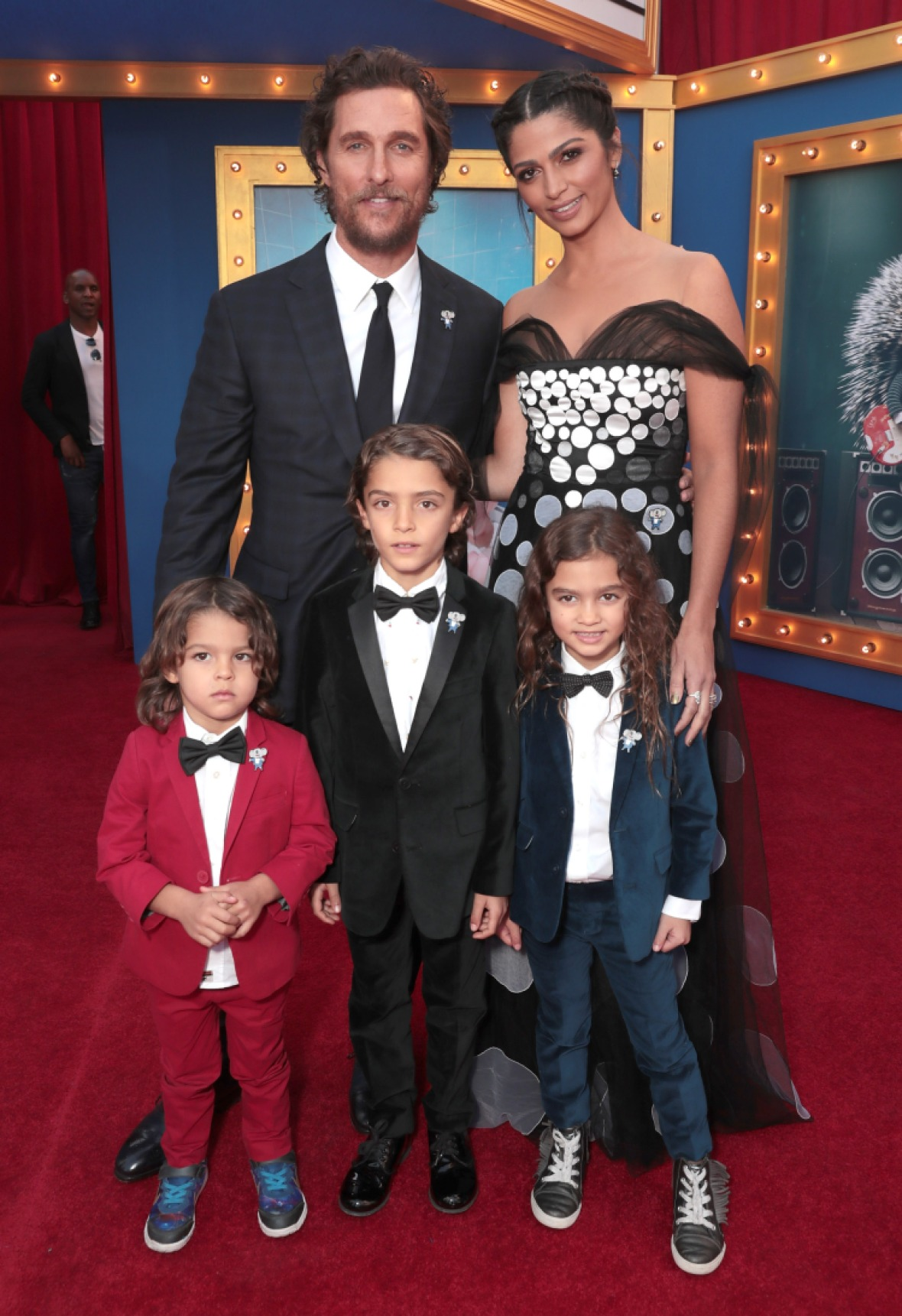 matthew and his family in 2016. (photo credit: getty images)