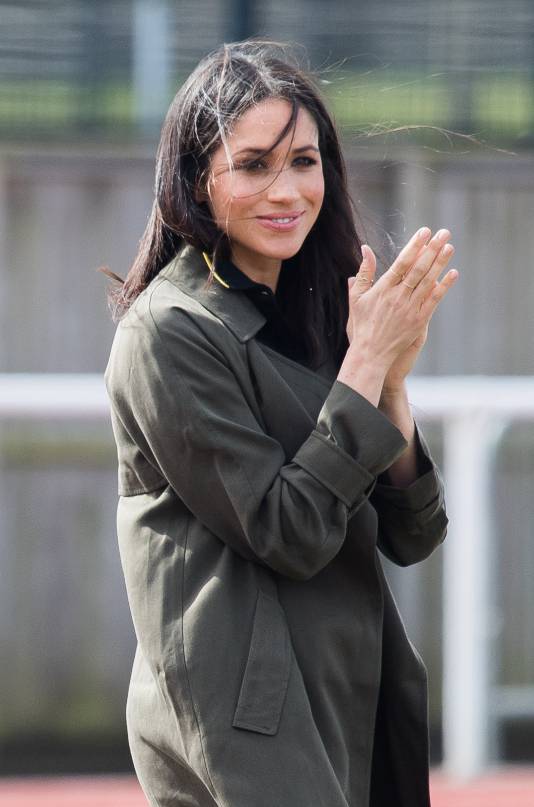 meghan markle baby bump getty images