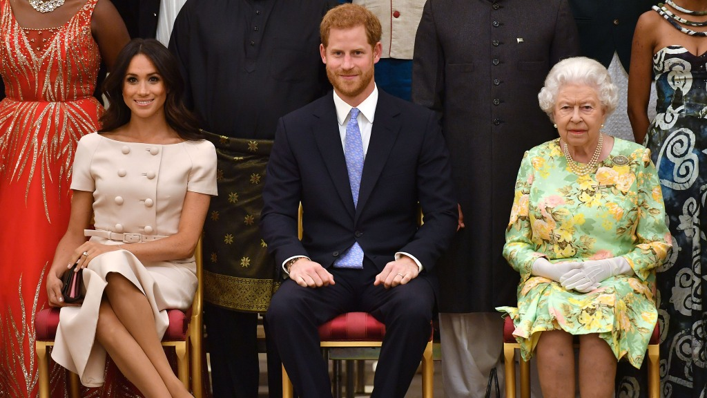 Meghan Markle Queen Elizabeth Prince Harry