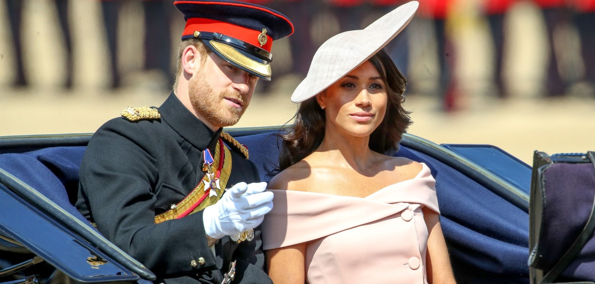 meghan markle prince harry trooping