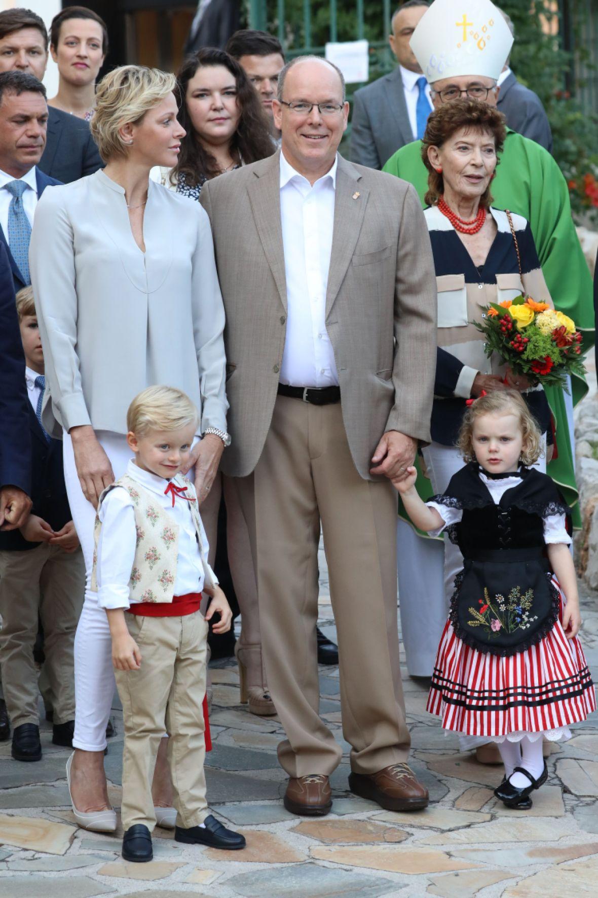 prince albert princess charlene royal twins