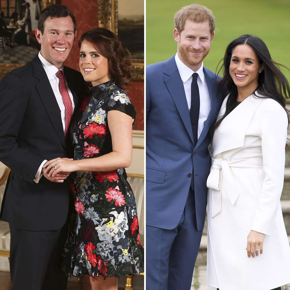 princess eugenie meghan markle getty images