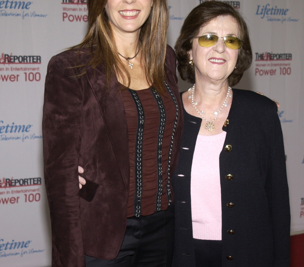 rita and her mom, dorothy. (photo credit: getty images)