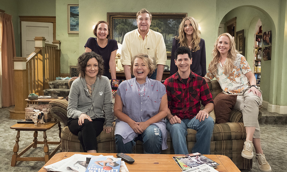 'roseanne' cast getty images