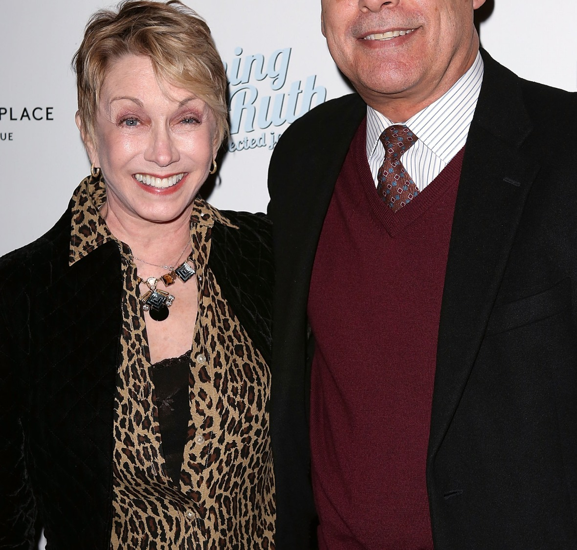 sandy and her husband, don correia. (photo credit: getty images)