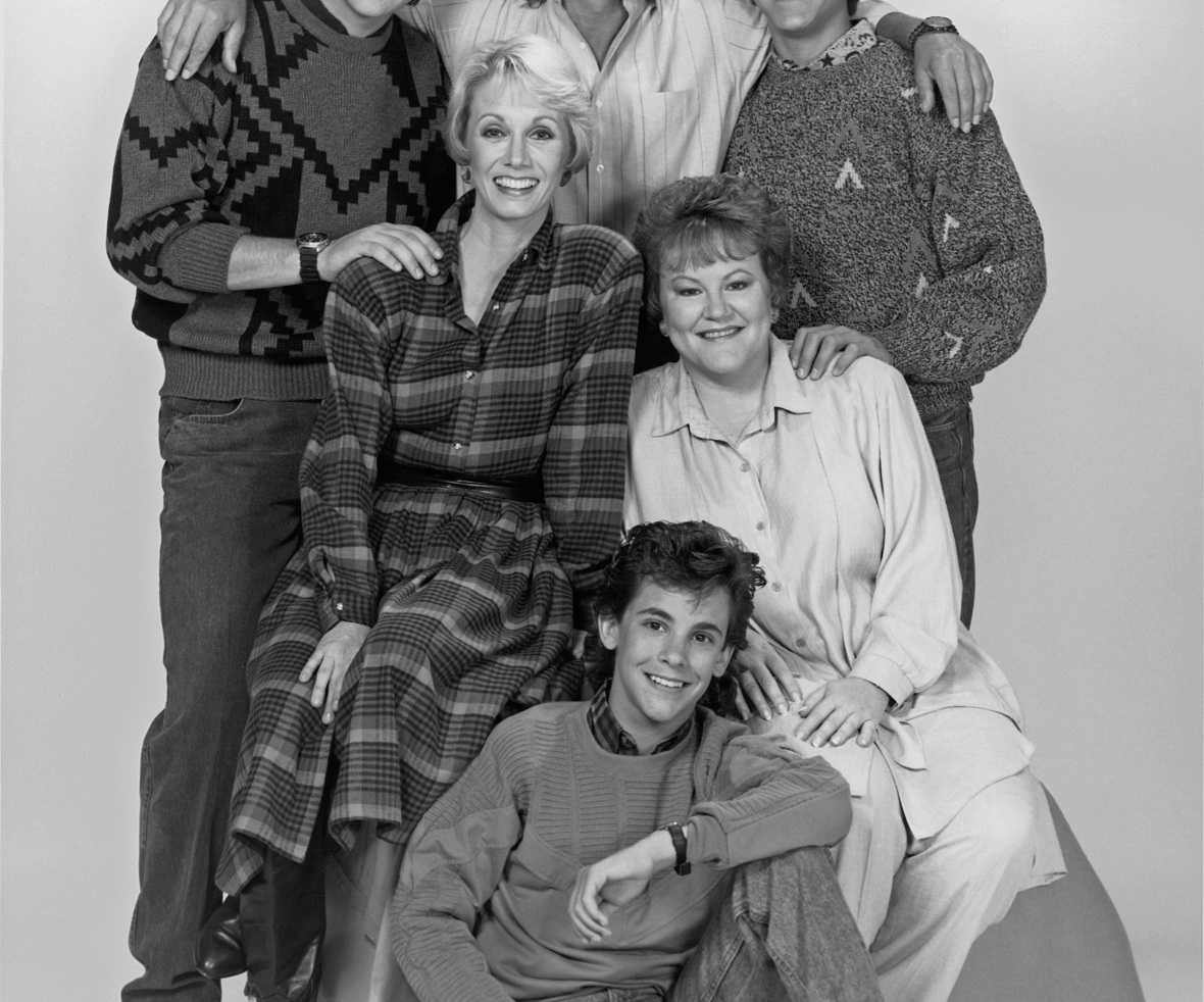 'the hogan family' cast. (photo credit: getty images)