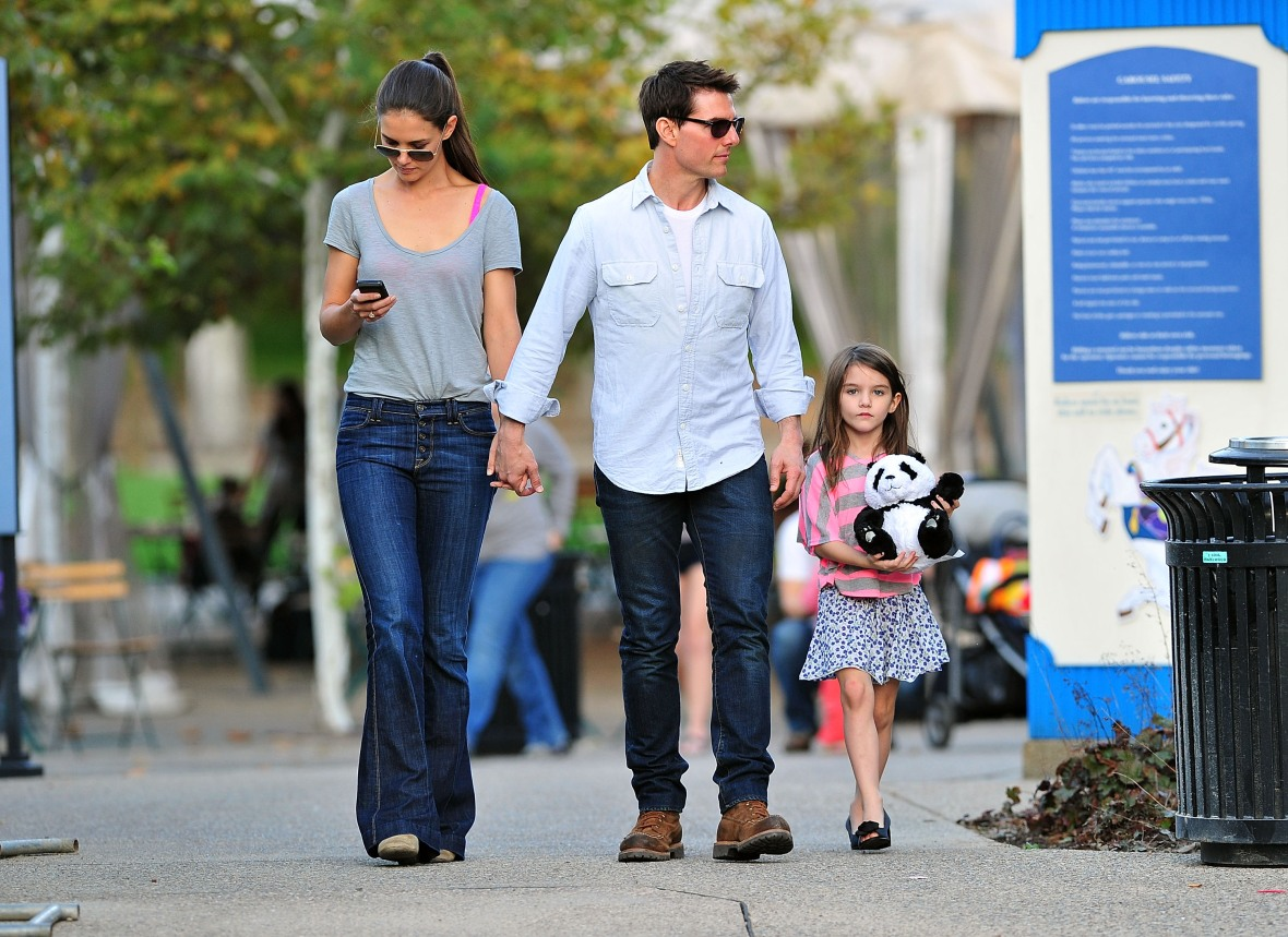 katie holmes suri cruise getty images