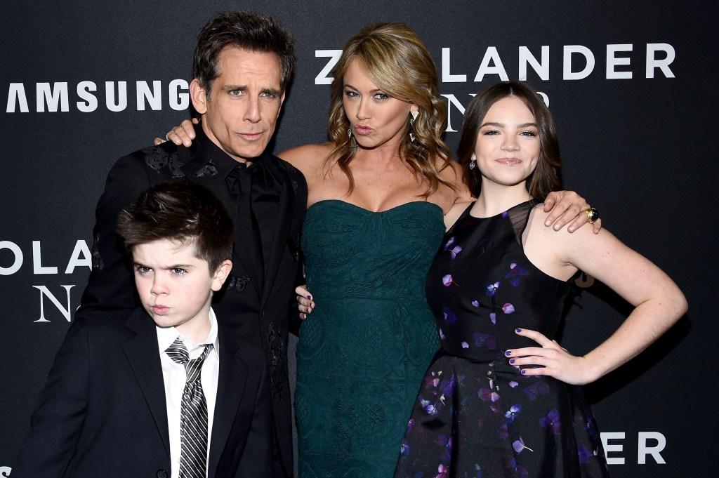 Ben-Stiller-Family