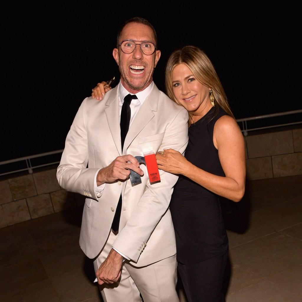Jennifer Aniston and Chris McMillian