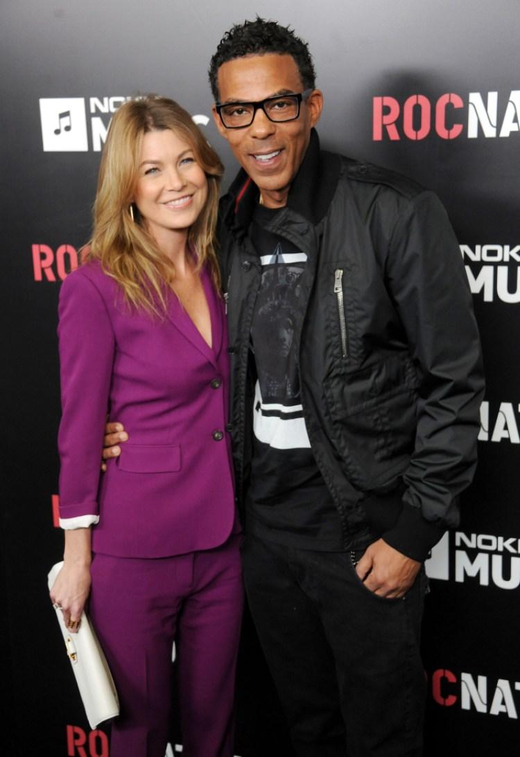 Ellen Pompeo and her husband Chris