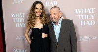 Hilary Swank and her dad