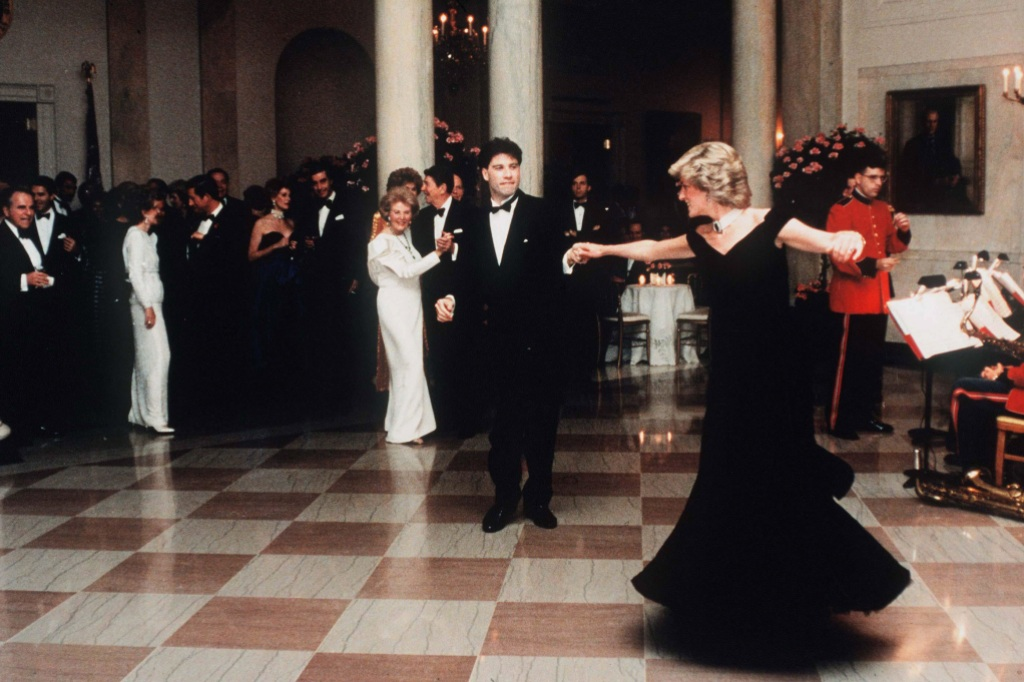 John Travolta Princess Diana