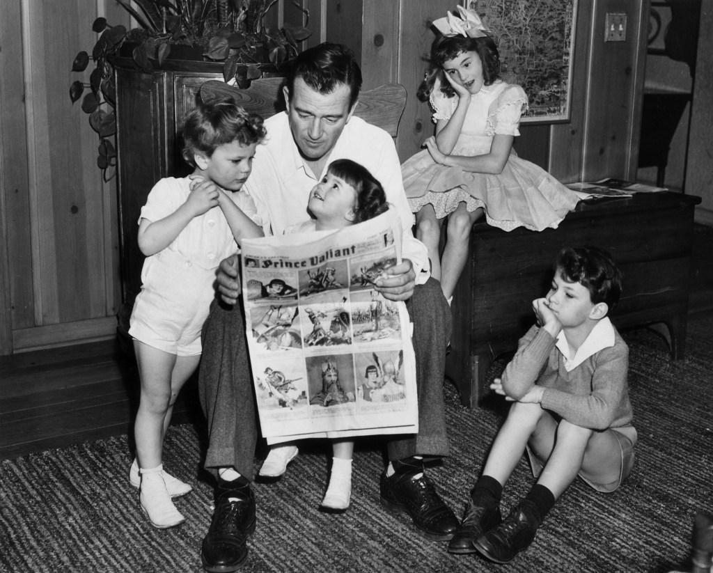 John-Wayne-Children
