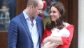 prince william, kate middleton, and prince louis