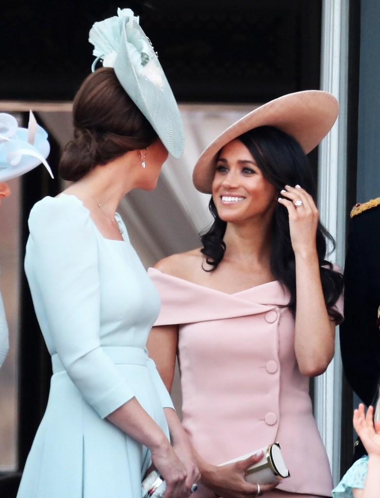 Meghan Markle Kate Middleton pregnancy