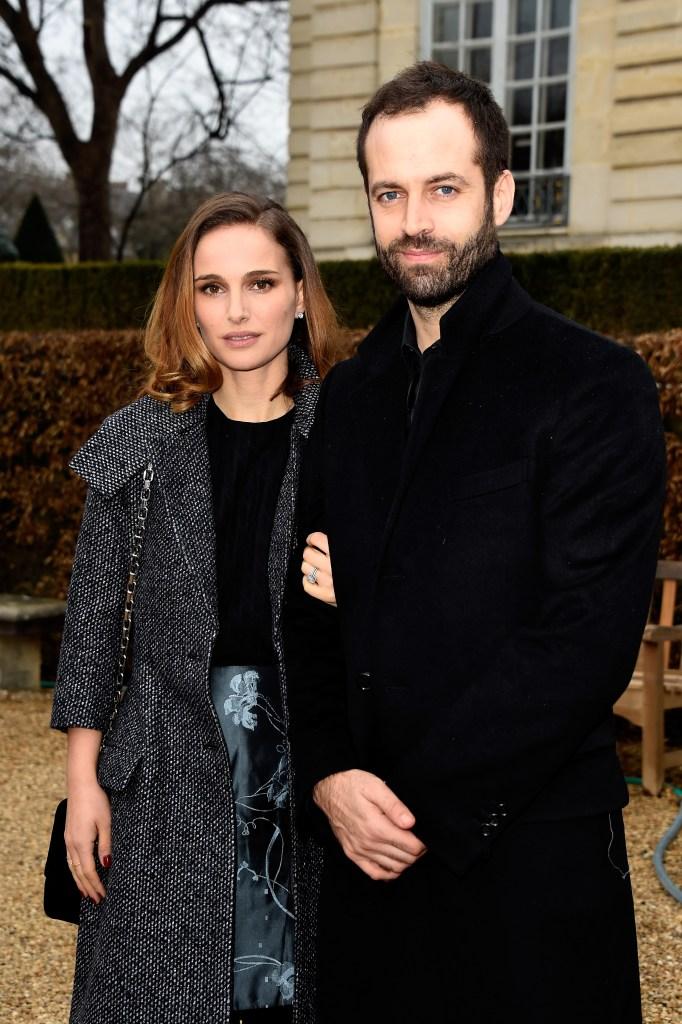 Natalie Portman and her husband, Benjamin.