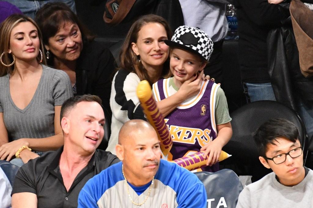 Natalie Portman son, Aleph