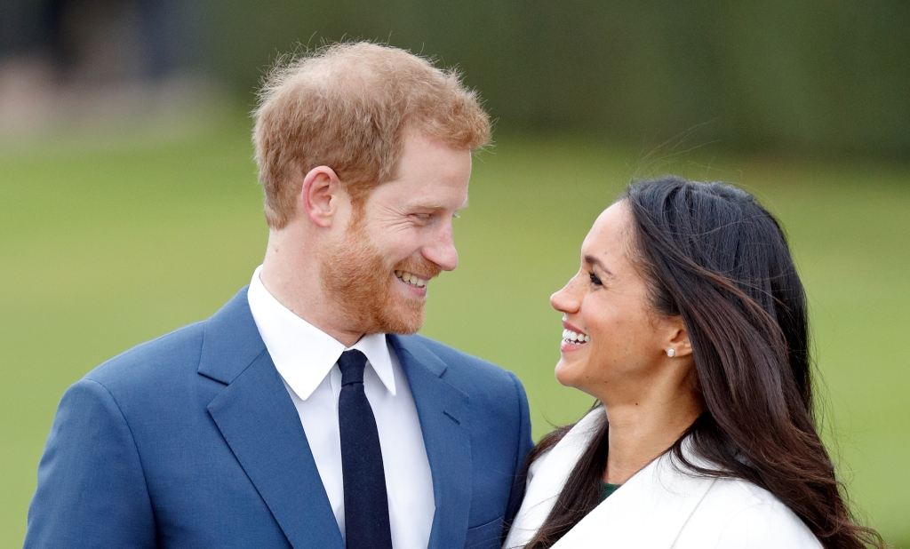Prince-Harry-Meghan-Markle-Laughing