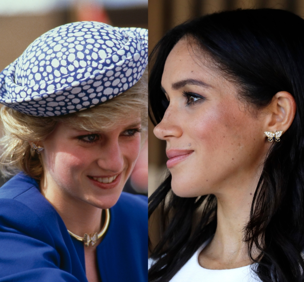 Princess-Diana-Meghan-Markle-Earrings