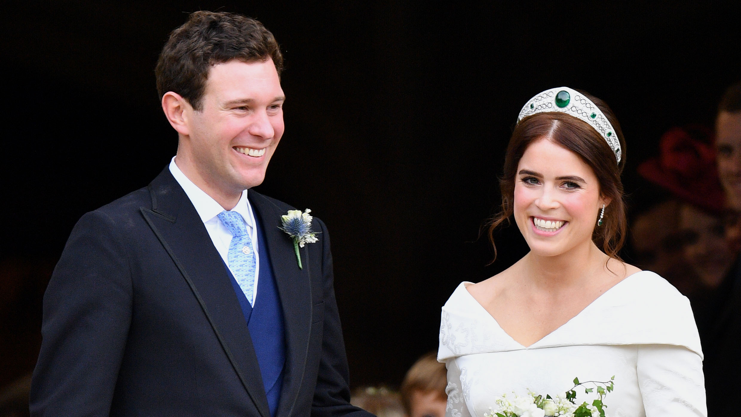 Prince Andrew Shares Photos Of Princess Eugenie S Wedding Flowers