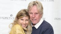 Gary Busey and his wife