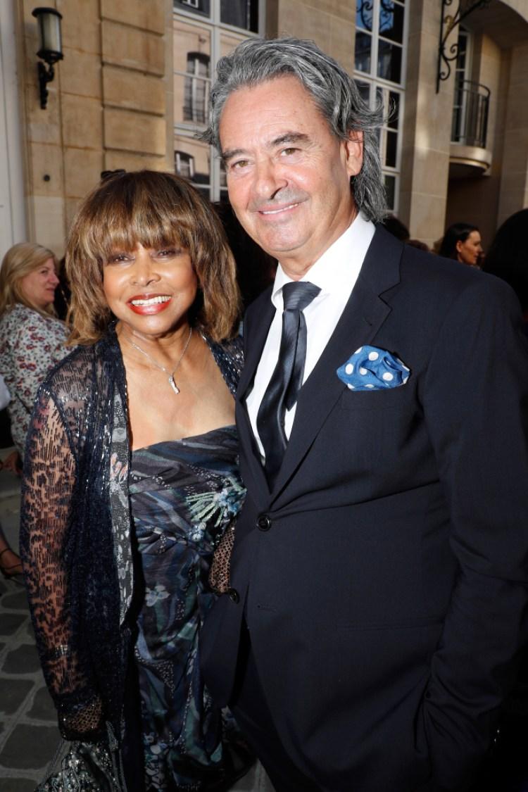 Tina Turner and her husband, Erwin.