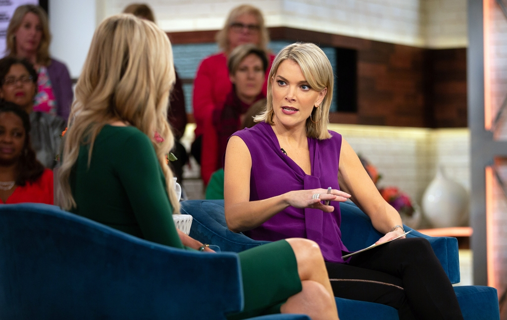 Today Megyn Kelly out NBC